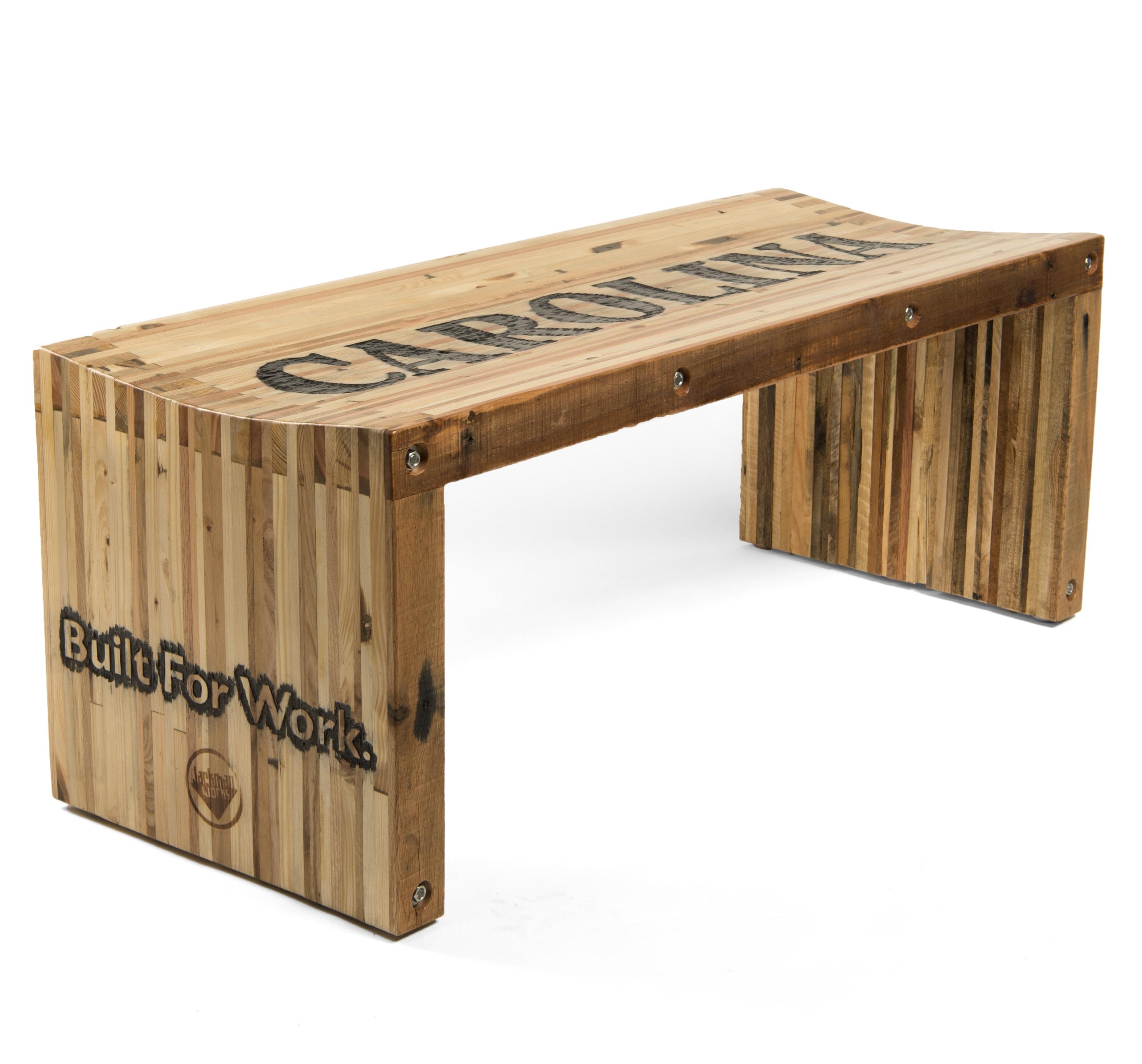 Pallet Wood Slat Bench Jackman Works
